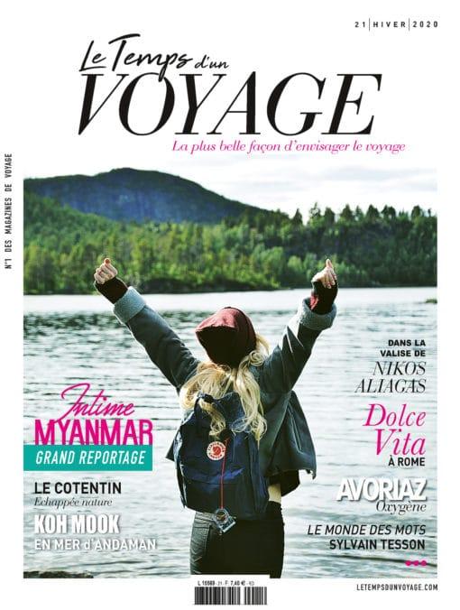 Couverture Le Temps d'un Voyage n°21